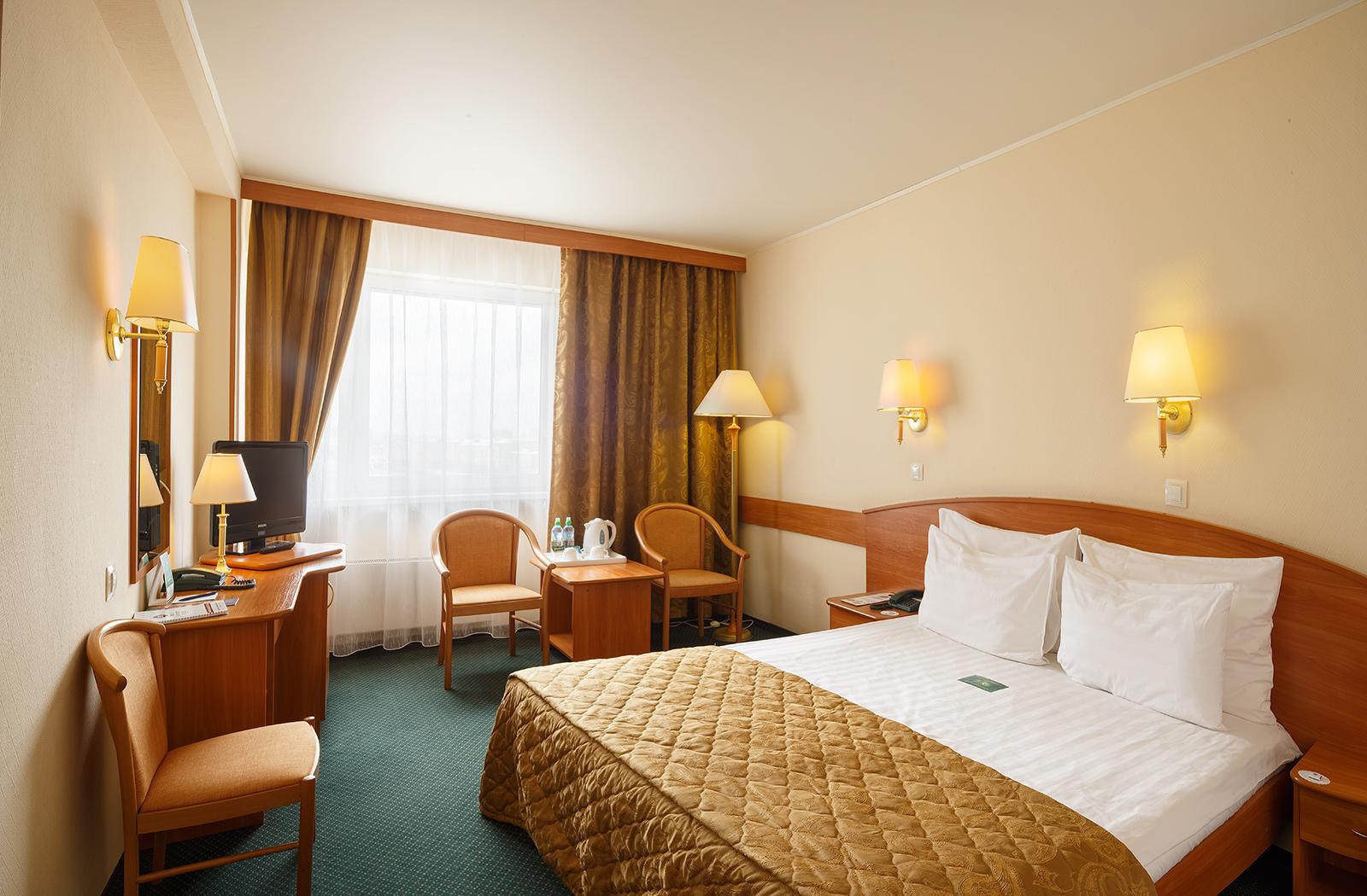 Стандарт двухместный в гостинице Вега